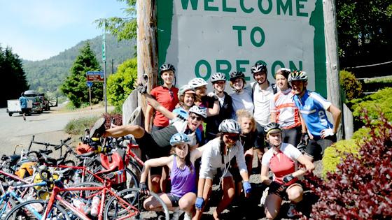 Jovens do Projeto Co-Cycle