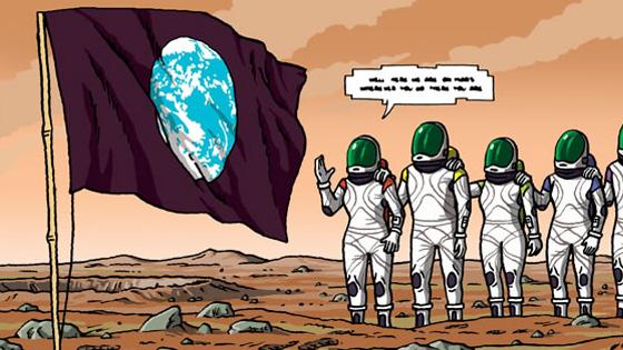 Cooperativismo em Marte?