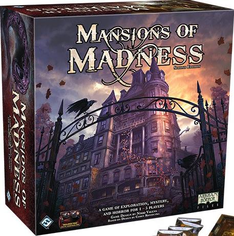 jogos cooperativos 2: Mansions of Madness