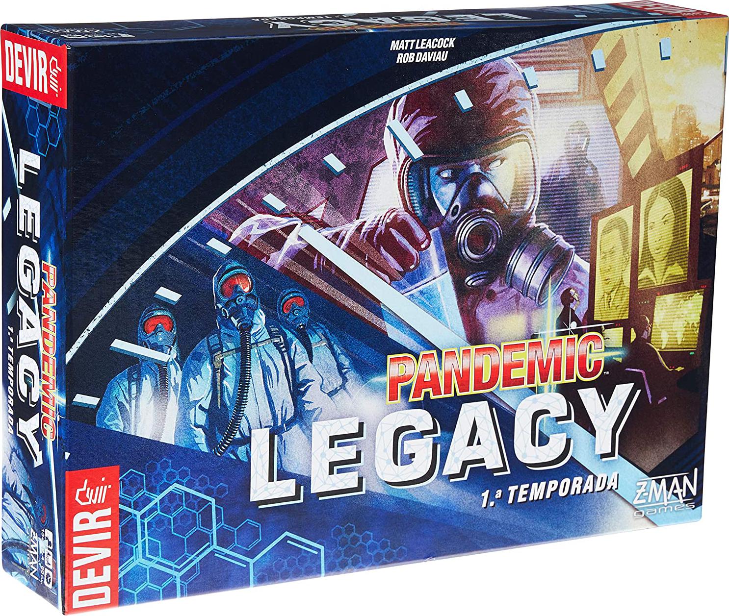 jogos cooperativos 3: Pandemic Legacy